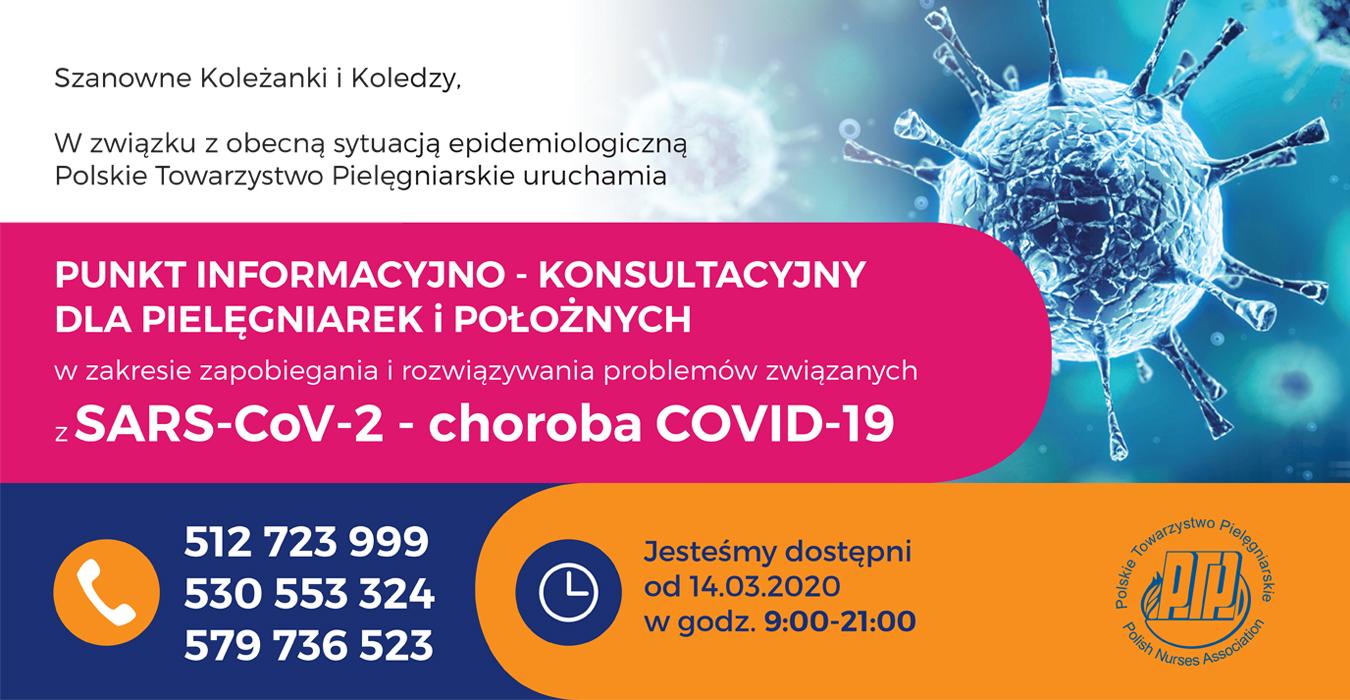 Banner Punkt InformacyjnyPTP Covid19