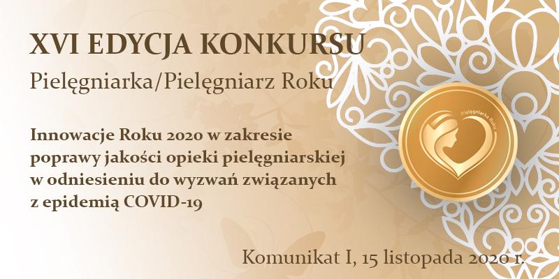 Banner Pielegniarka Roku 2020 Aktuanosci